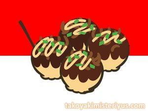 takoyaki populer di indonesia